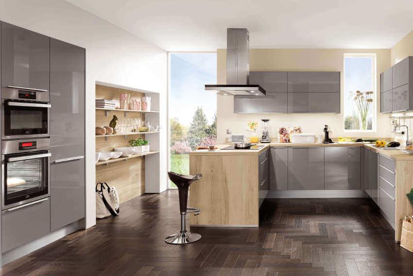 Configurator pentru bucătărie online - gratuit, fără descărcare și în 3D